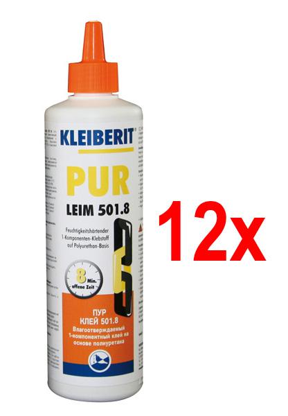 KLEIBERIT 501.8 D4 PUR-Leim, 12er-Karton