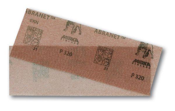 MIRKA Abranet® Schleifstreifen 70 x 198 mm Klett, 10er Pack