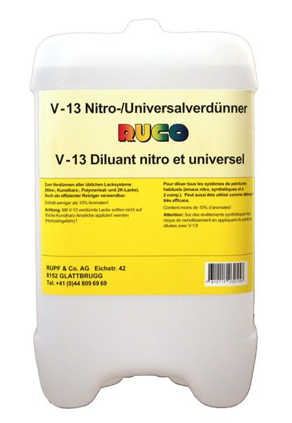 RUCO V-13 Nitro-/Universalverdünner
