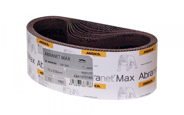 MIRKA Abranet® Max Schleifbänder 75 x 533 mm, 2er Pack