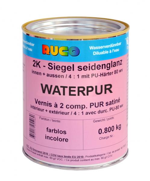 RUCO WATERPUR 2K-Siegellack, farblos
