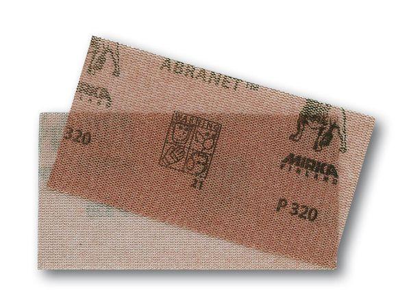 MIRKA Abranet® Schleifstreifen 70 x 125 mm Klett, 10er Pack