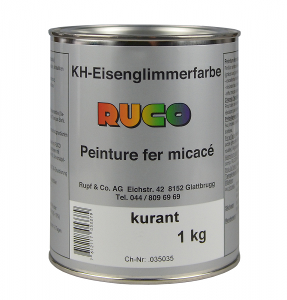 RUCO Kunstharz-Eisenglimmerfarbe, 1 KG