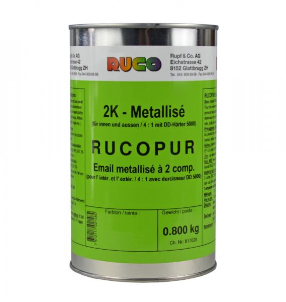 RUCO RUCOPUR 2K-Metalliclack (Metallisé)