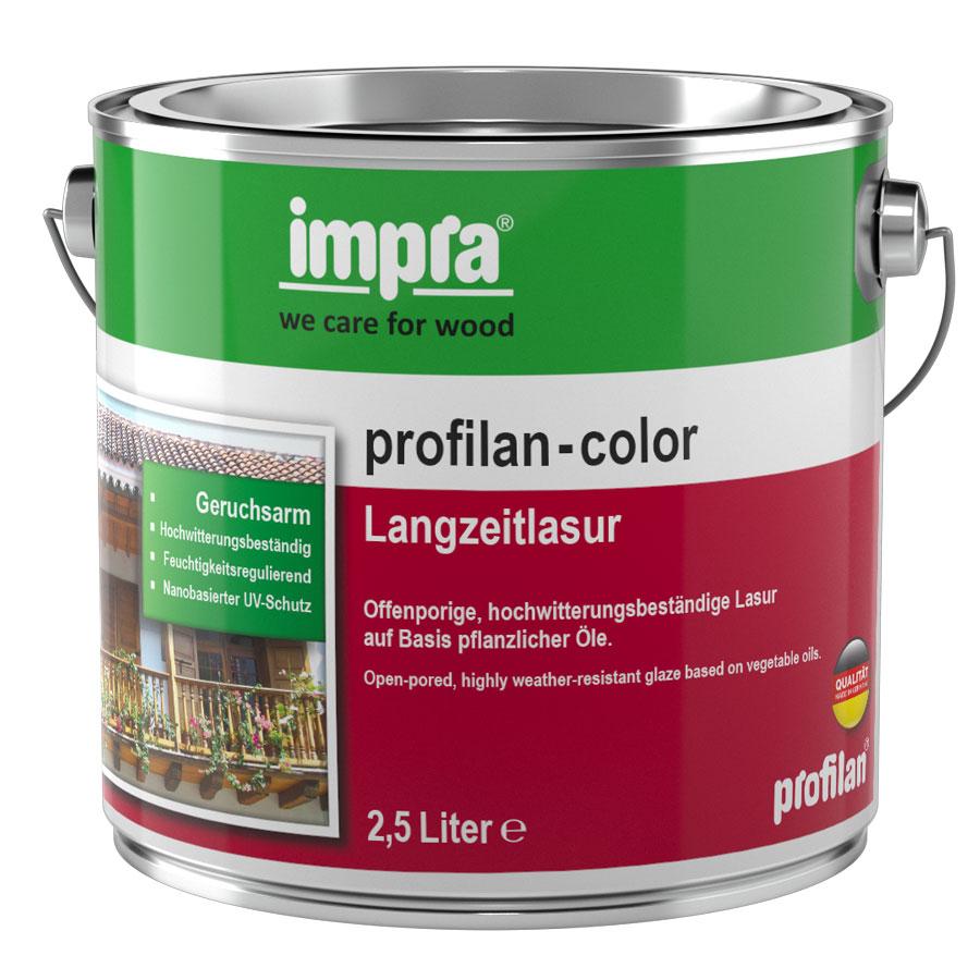 impra profilan color langzeitlasur lasuren holzschutz au en farben lacke farbenexperte24. Black Bedroom Furniture Sets. Home Design Ideas