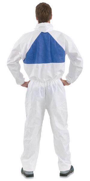 3M™ Einweg-Overall 50198 Weiß+Blau, TYP 5/6