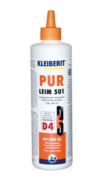 KLEIBERIT PUR Leim 501.0 1K-PUR-Klebstoff, PUR-Kleber gelblich - braun
