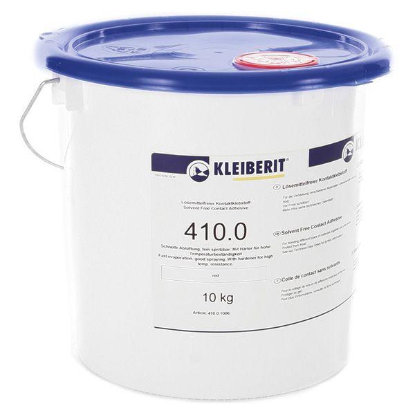 KLEIBERIT 410.0 Kontaktklebstoff, Kontaktkleber wässrig, rot