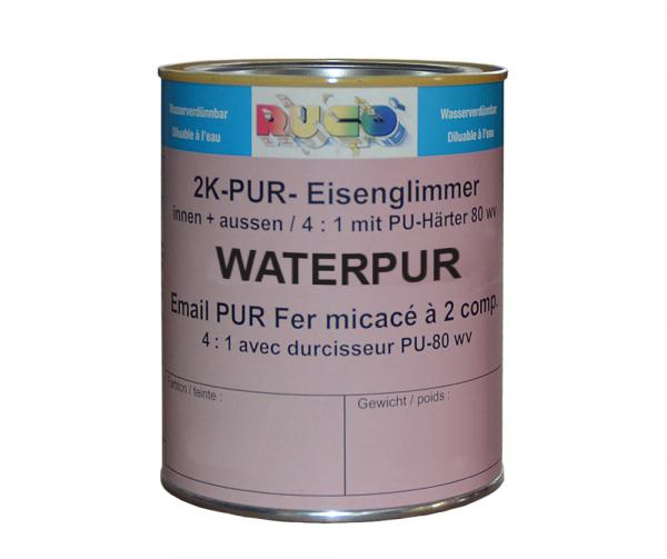 RUCO WATERPUR 2K-Eisenglimmerfarbe (Korrosionsschutzdecklack)