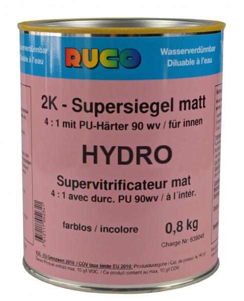 RUCO HYDRO 2K-Supersiegel matt, farblos