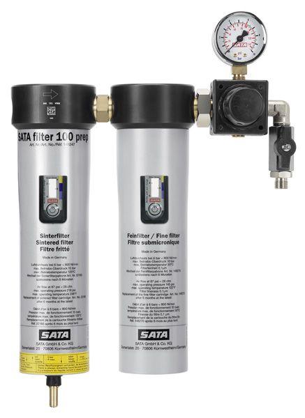 SATA filter 100 prep™