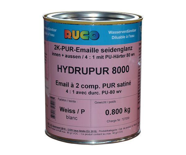 RUCO HYDRUPUR 8000 2K-PUR-Emaillack seidenglänzend