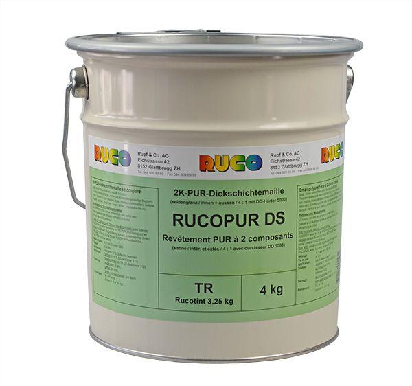RUCO RUCOPUR DS 2K-PUR-Dickschichtlack seidenglänzend