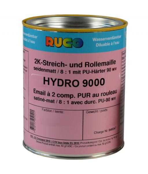 RUCO HYDRO 9000 2K-PUR-Streich- und Rolllack seidenmatt