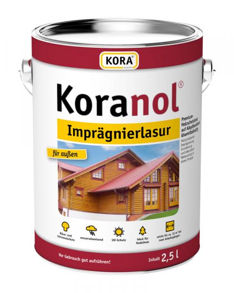 KORA Koranol® Imprägnierlasur für außen