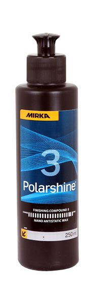 MIRKA Polarshine® Nano Antistatic Wax 3 Ultrafeine Politur
