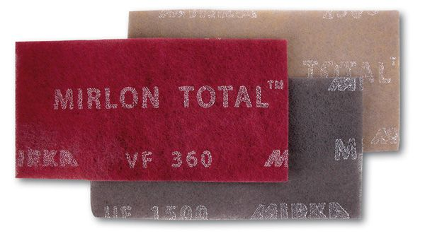 MIRKA Mirlon Total® Schleifvlies 115 x 230 mm
