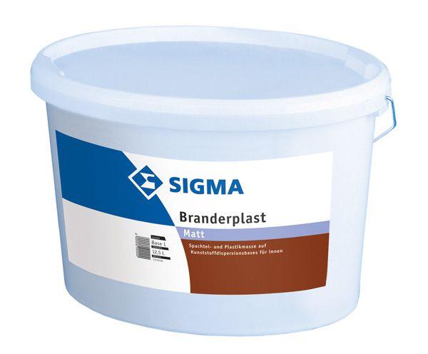 SIGMA Branderplast weiss 20 KG
