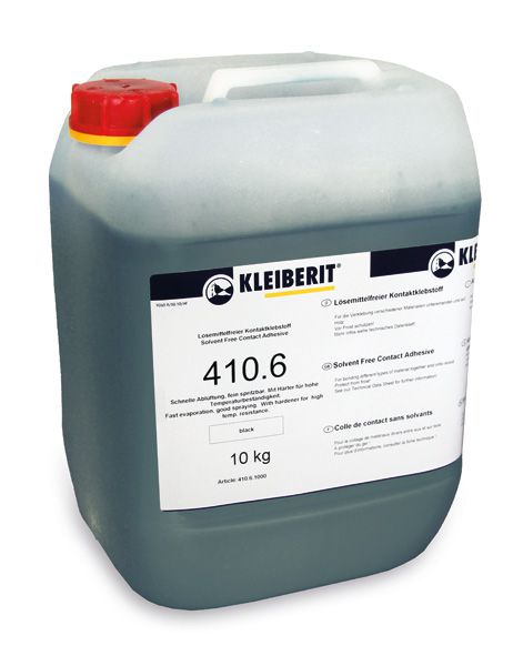 KLEIBERIT 410.6 Kontaktklebstoff, Kontaktkleber wässrig, schwarz