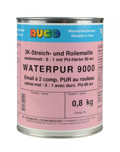 RUCO WATERPUR 9000 2K-PUR-Streich- und Rolllack seidenmatt