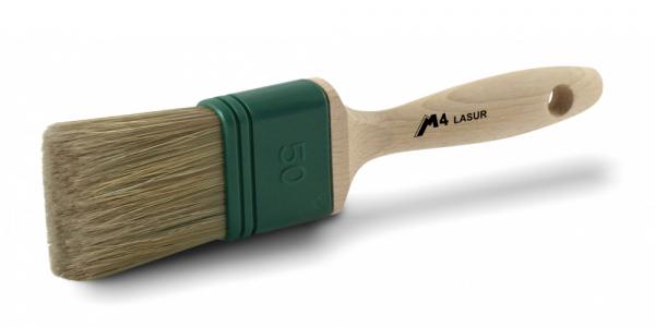 BONUM Flachpinsel M4 Lasur, 12. Stärke