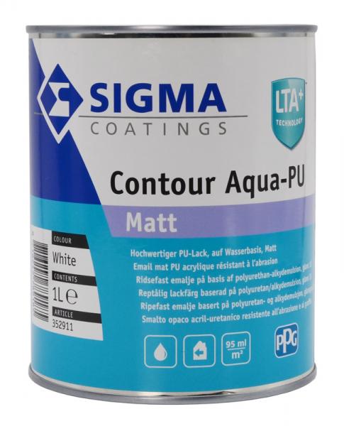 SIGMA Contour Aqua-PU Matt Streichlack