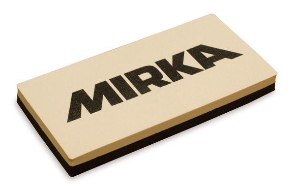 MIRKA Handblock ohne Absaugung 128 x 63 x 16 mm