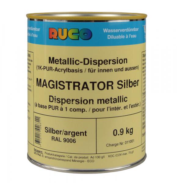 RUCO MAGISTRATOR Nova Metalliclack Silber
