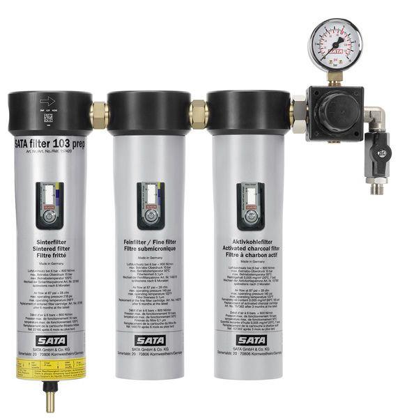 SATA filter 103 prep™