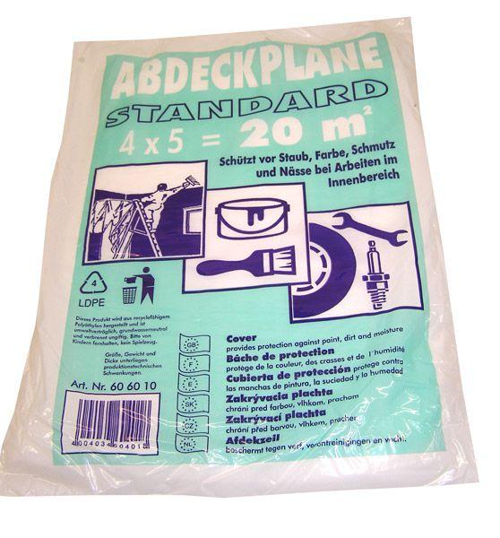 BONUM Abdeckplane Polyethylen