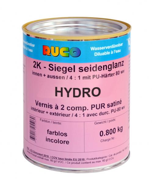 RUCO HYDRO 2K-Siegellack, farblos