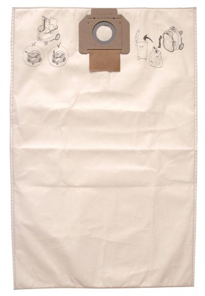 MIRKA Fleece-Beutel für Serie 1230 + 1242, 5er Pack