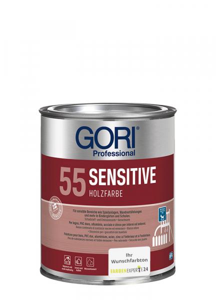 GORI 55 SENSITIVE Holzfarbe