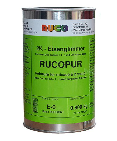 RUCO RUCOPUR 2K-Eisenglimmerfarbe (Korrosionsschutzdecklack)