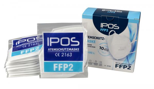 Atemschutzmaske FFP 2, 10er-Pack