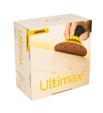 MIRKA Ultimax® Schleifscheiben Ø 34 mm Klett, 50er Pack